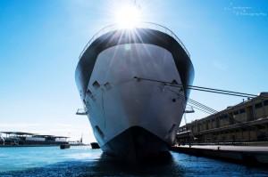 October 2016 the ship - Venice, Italy