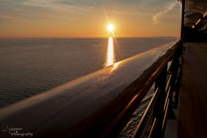 March 2017 - Sunset at sea